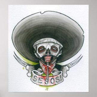 Bandito Zombie Poster