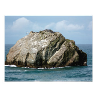 Bandon Oregon's famous Face Rock Photo Print
