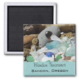Bandon Treasures magnets Oregon Beaches Seaglass