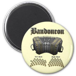 Bandoneon 2 magnets