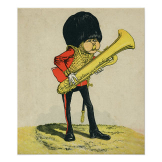 Bandsman of the Grenadier Guards Poster