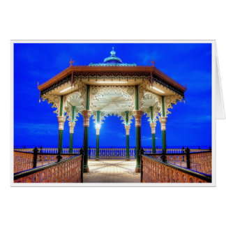 Bandstand at Twilight Card