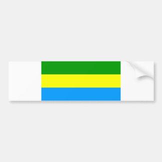Bandung city flag indonesia symbol bumper sticker