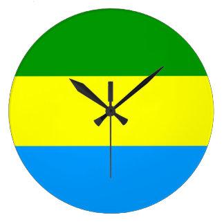 Bandung city flag indonesia symbol large clock