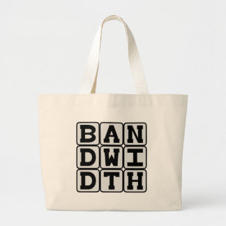Bandwidth, Data Transfer Rate Tote Bag