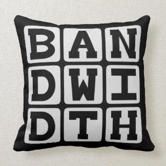 Bandwidth Data Transfer Rate Pillow