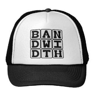 Bandwidth, Data Transfer Rate Hat