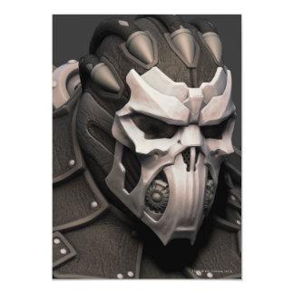 Bane Alternate - Head 13 Cm X 18 Cm Invitation Card
