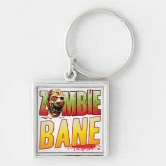 Bane Zombie Head Key Chains