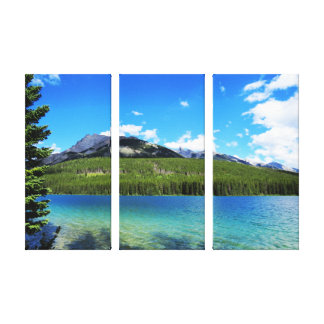 Banff Emerald Lake Canvas Print