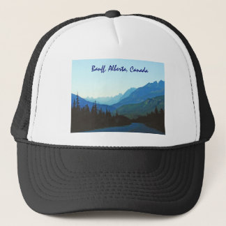Banff Jasper Blue Trucker Hat