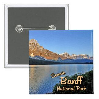 Banff National Park 15 Cm Square Badge
