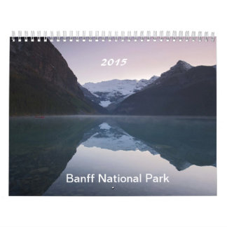 Banff National Park Calendar