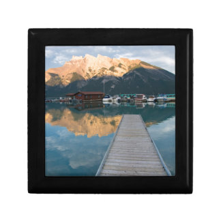 Banff National Park, Canada Small Square Gift Box
