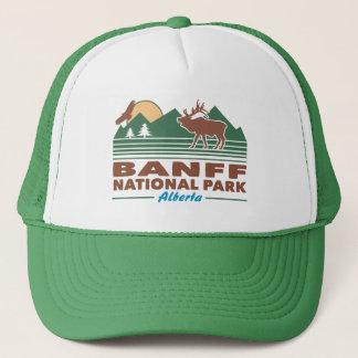 Banff National Park Elk Trucker Hat