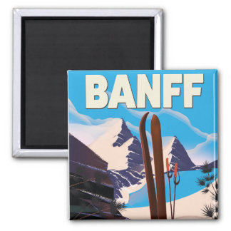 Banff National Park in Alberta, Canada. Magnet