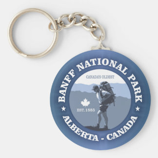 Banff National Park Key Ring