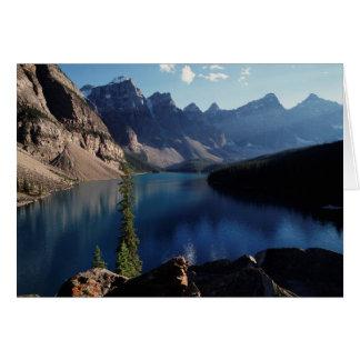 Banff National Park Moraine Lake Card