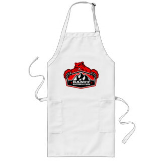 Banff National Park Red Bear Long Apron