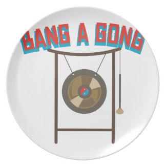 Bang A Gong Dinner Plate