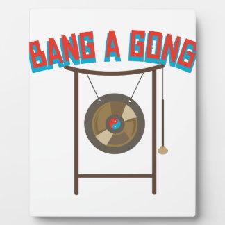 Bang A Gong Plaque