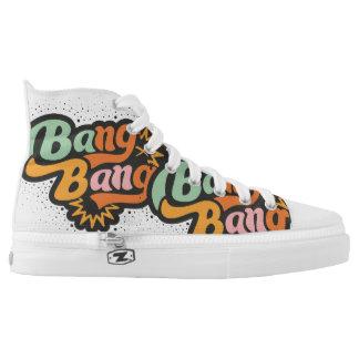 Bang, bang printed shoes