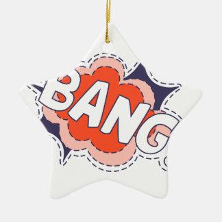 Bang Bright Ceramic Ornament