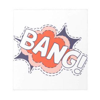 Bang Bright Notepad