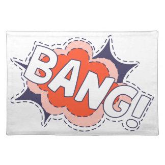 Bang Bright Placemat