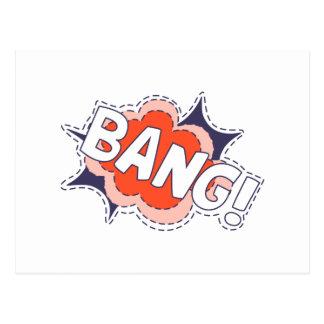 Bang Bright Postcard