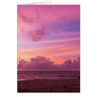 Bang Tao sunset Card