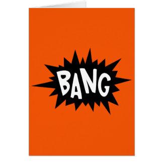 Bang! - You just hit 40 Dude Birthday card