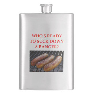 BANGER HIP FLASK