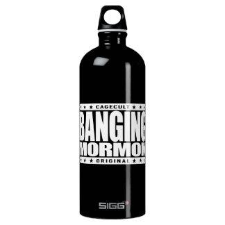 BANGING MORMON - Latter-day Saints Church Brawler SIGG Traveller 1.0L Water Bottle
