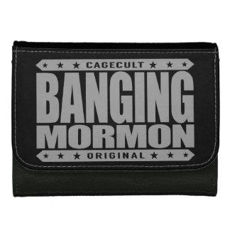 BANGING MORMON - Latter-day Saints Church Brawler Women's Wallets