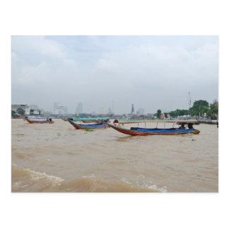 Bangkok Crossing Postcard