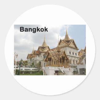 Bangkok grand palace (St.K) Classic Round Sticker