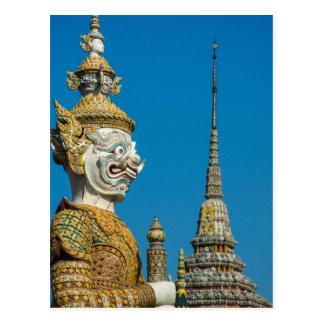 Bangkok Guardian Statue Postcard