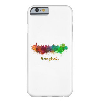 Bangkok skyline in watercolor barely there iPhone 6 case