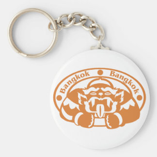 Bangkok Stamp Key Ring