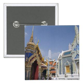 Bangkok, Thailand. Bangkok's Grand Palace 15 Cm Square Badge