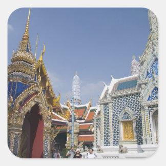 Bangkok, Thailand. Bangkok's Grand Palace Square Sticker