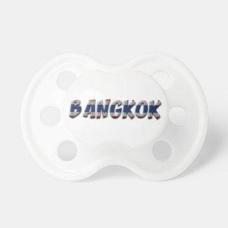 Bangkok Thailand Thai Flag Colors Typography Dummy