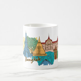 Bangkok Thailand Travel Coffee Mug