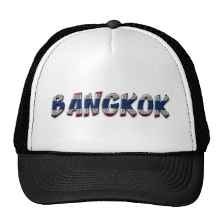 Bangkok Thailand Typography Elegant Text Only Cap