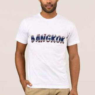 Bangkok Thailand Typography Elegant Text Only T-Shirt