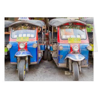 Bangkok tuk tuks card