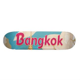 Bangkok Vintage Travel Poster Skate Deck
