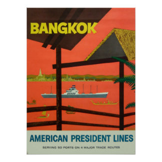 Bangkok Vintage  Vintage Print
