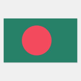 Bangladesh/Bangladeshi Flag Rectangle Stickers
